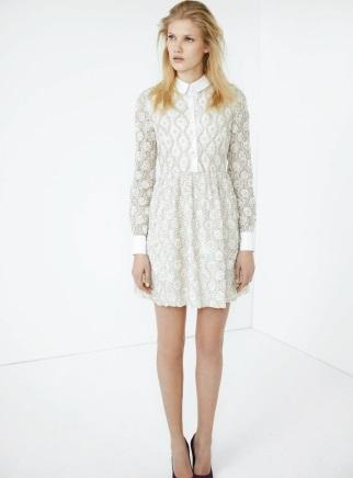 91861e80322 Robes de mode  Robe blanche hiver femme