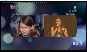 vidéo olivia ruiz céleste téléthon 2009